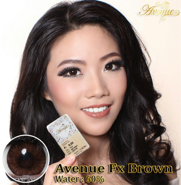 softlens avenue fx brown