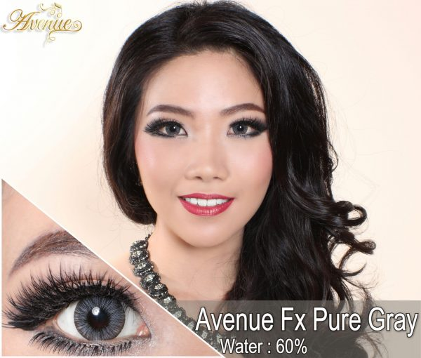 softlens avenue fx pure grey
