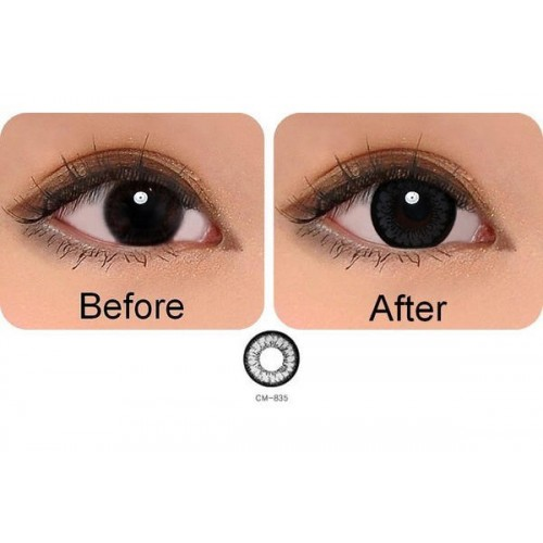 softlens geo angel cm935 grey
