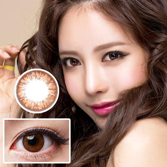 hc-244 geo grang grang brown softlens