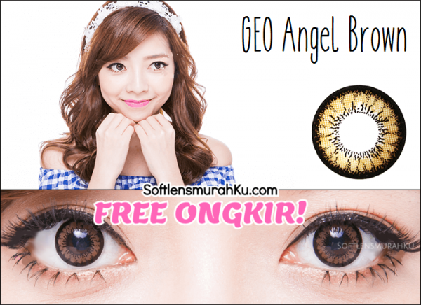 softlens geo angel brown