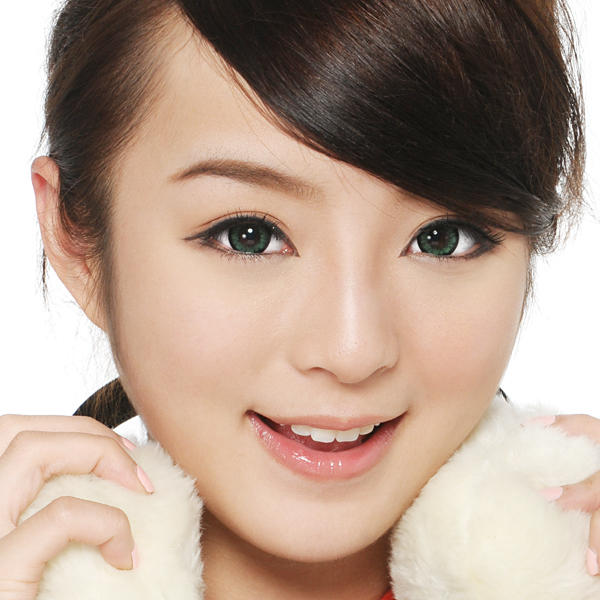 softlens geo angel green cm-833