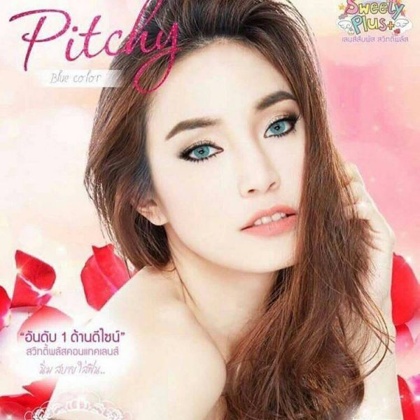 softlens sweety pitchy blue