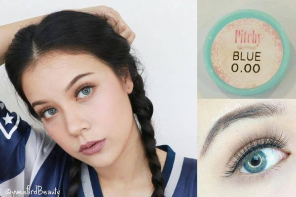 softlens blue sweety pitchy