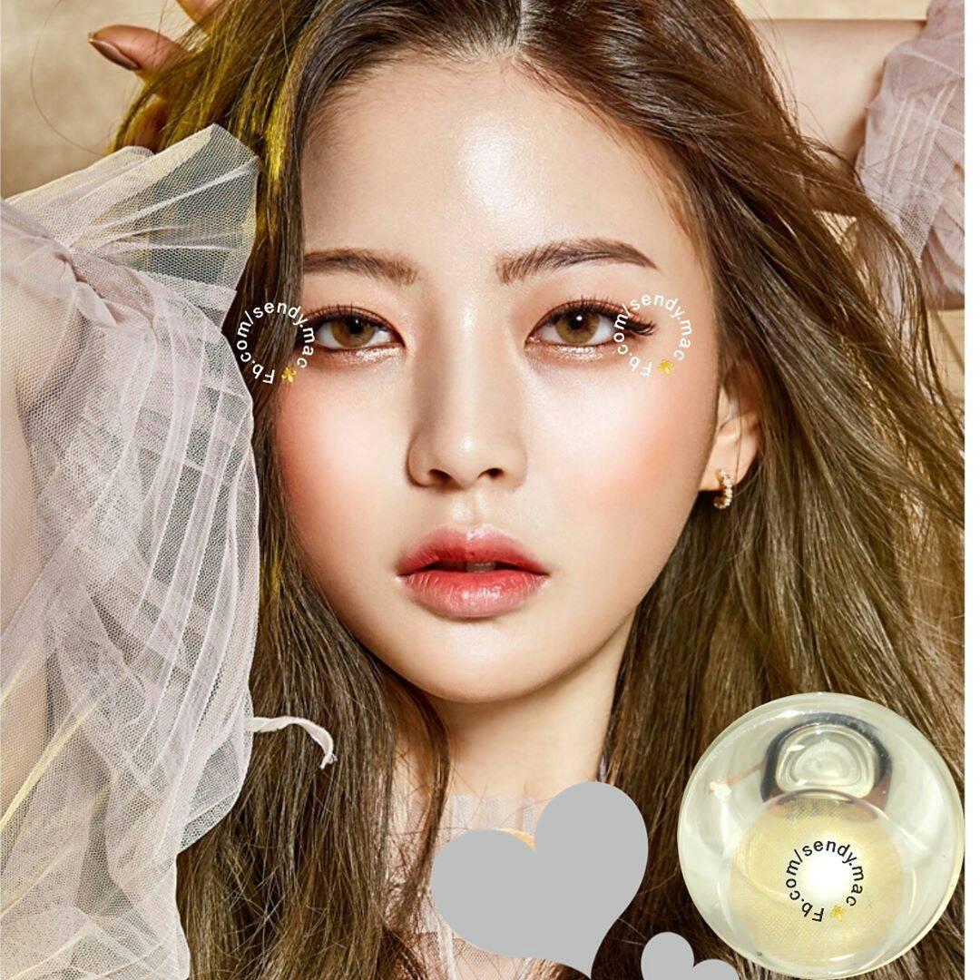 Jual Softlens Sweety Pitchy Free Ongkir Softlensmurahku Lovely Girl Brown New 145mm