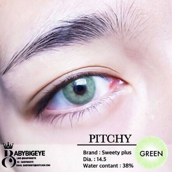 softlens pitchy green