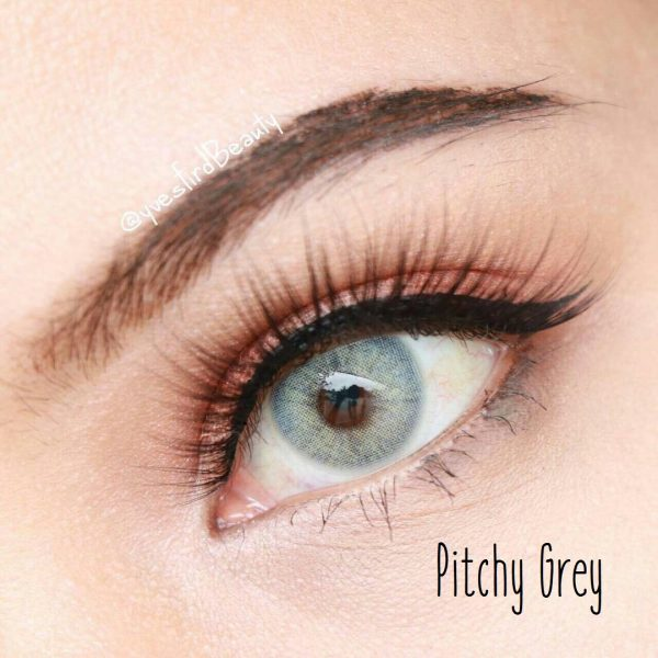 softlens pitchy grey by sweety plus