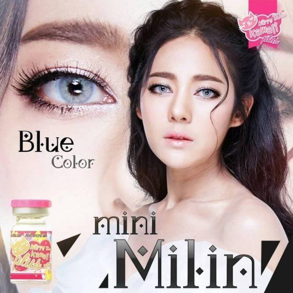 mini milin blue