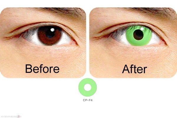 geo contact lens crazy lens cp-f4