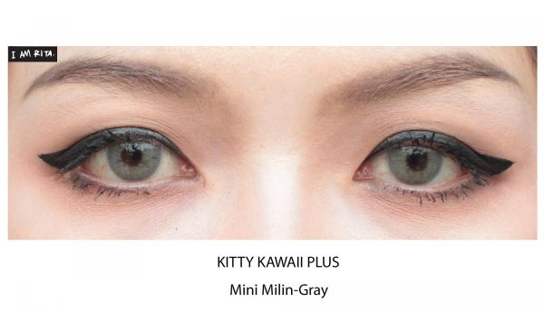 mini milin grey softlens