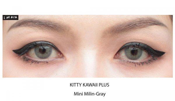 mini milin grey softlens
