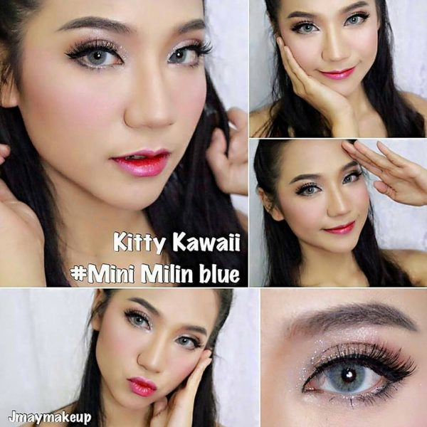 mini milin blue