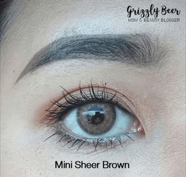 mini sheer brown