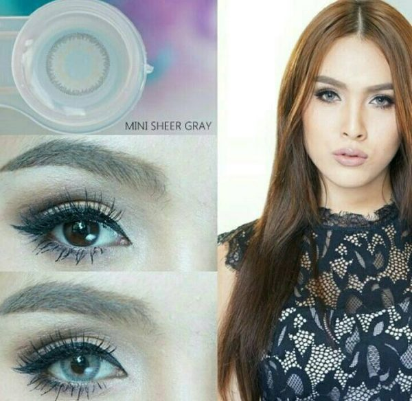 mini sheer grey softlens abu abu