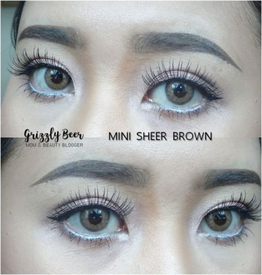 softlens mini sheer brown