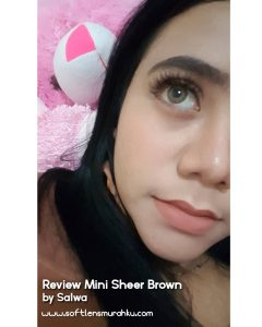 review mini sheer brown sis salwa 2