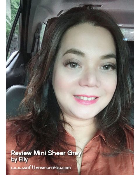 review mini sheer grey sis elly