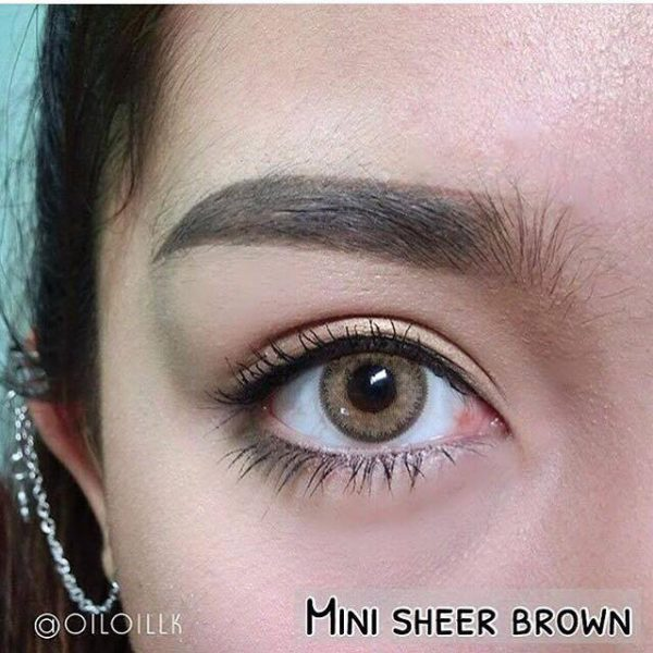 softlens coklat mini sheer