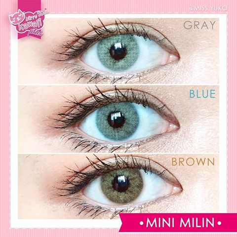 softlens kitty kawaii mini milin