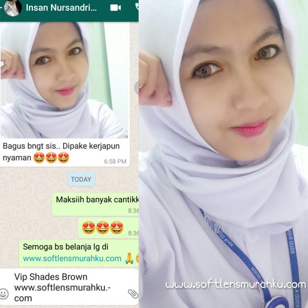 review vip shades brown sis insan