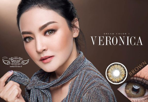 softlens veronica brown