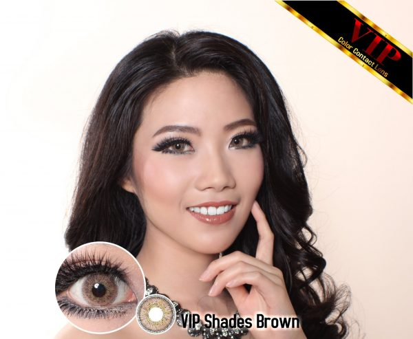 softlens VIP Shades brown