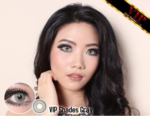 softlens terbaru softlens VIP Shades grey
