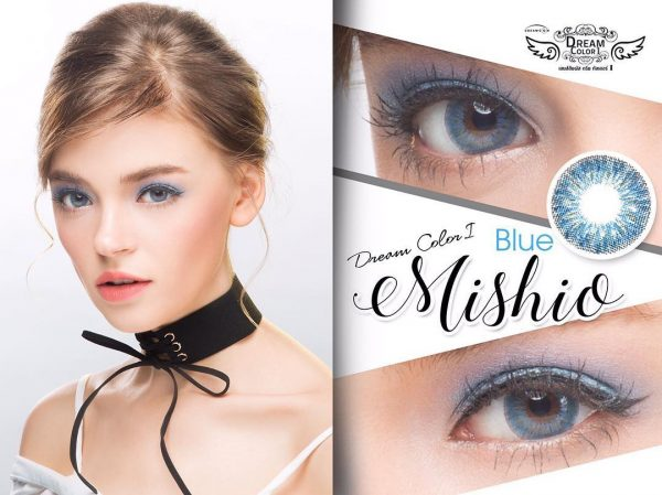 softlens dreamcolor mishio blue