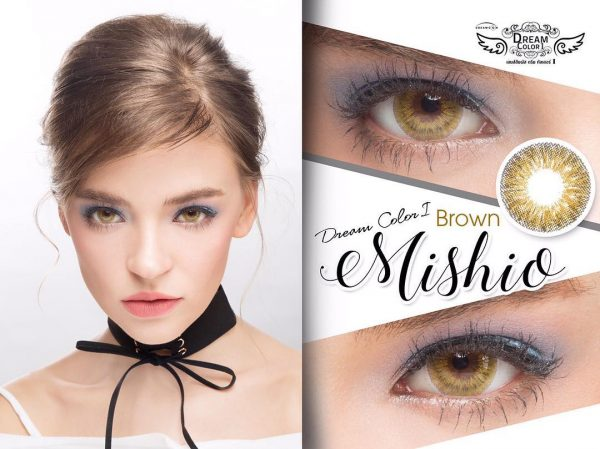 softlens dreamcolor mishio brown