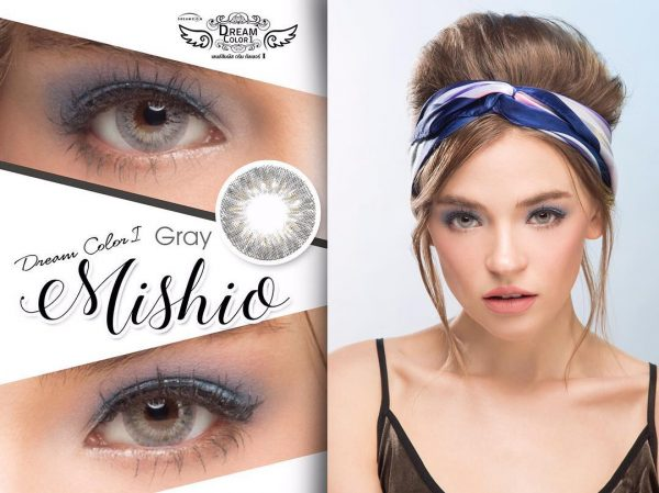 softlens dreamcolor mishio grey