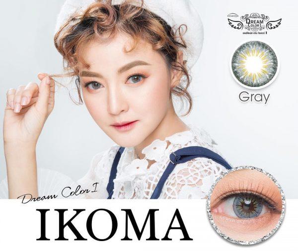 softlens dreamcolor ikoma grey