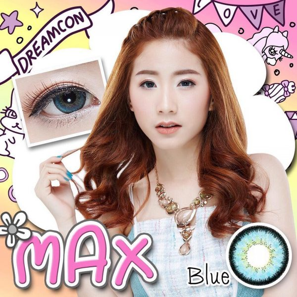 softlens dreamcolor max blue