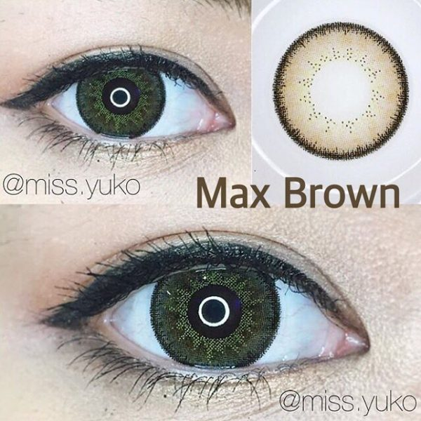 softlens dreamcon max brown