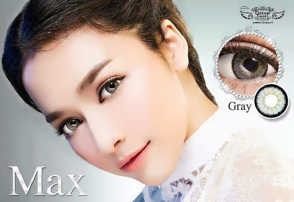softlens max grey dreamcolor