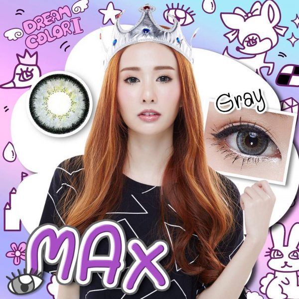 softlens dreamcolor max grey