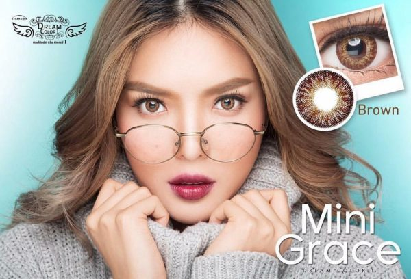 softlens dreamcolor mini grace brown
