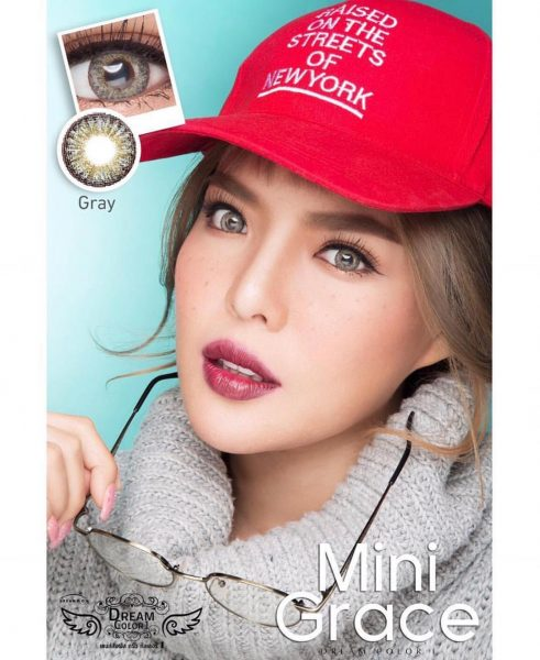softlens dreamcolor mini grace grey