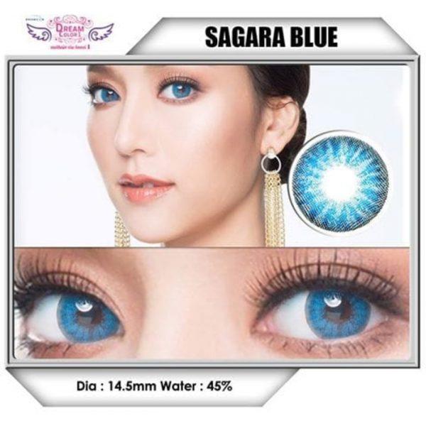 dreamcolor sagara blue softlens