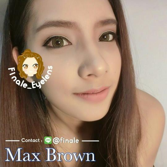 max brown softlens