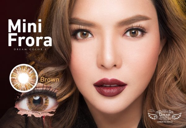 softlens dreamcolor mini frora brown