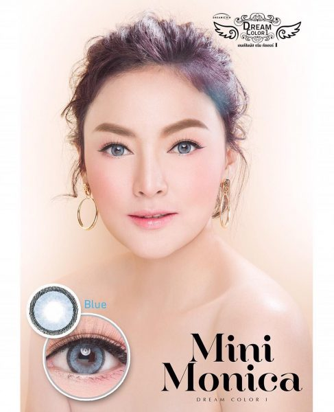 softlens dreamcolor mini monica blue