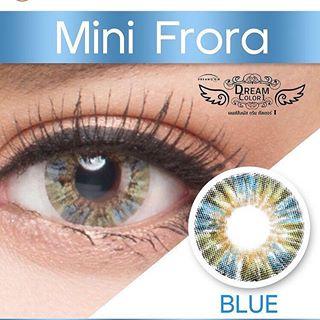 softlens dreamcolor mini flora blue