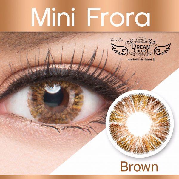 softlens dreamcolor mini flora brown