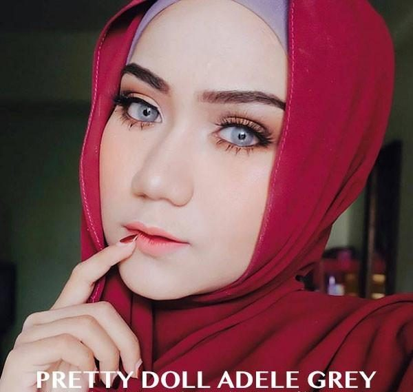 softlens pretty doll adele gray