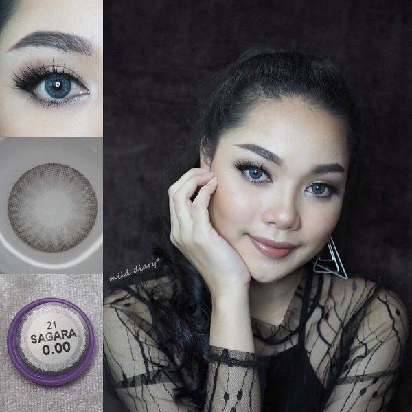 softlens dreamcolor sagara grey color
