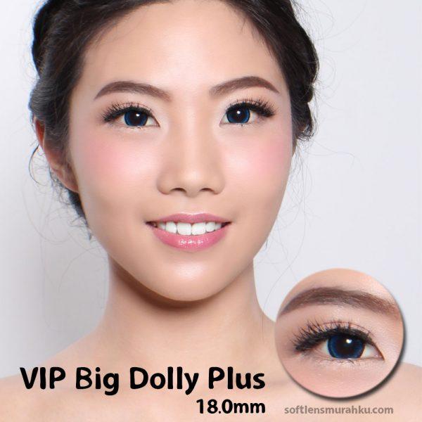 softlens vip big dolly blue