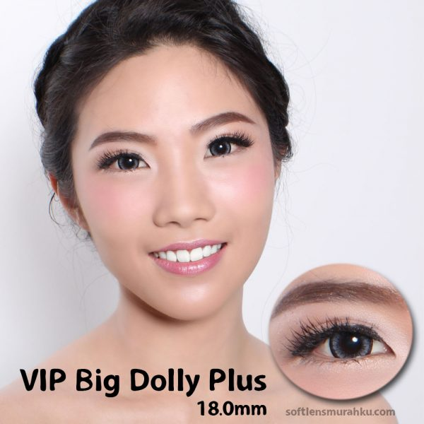 softlens vip big dolly grey
