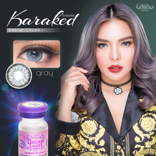 Softlens Dreamcolor KARAKED GRAY