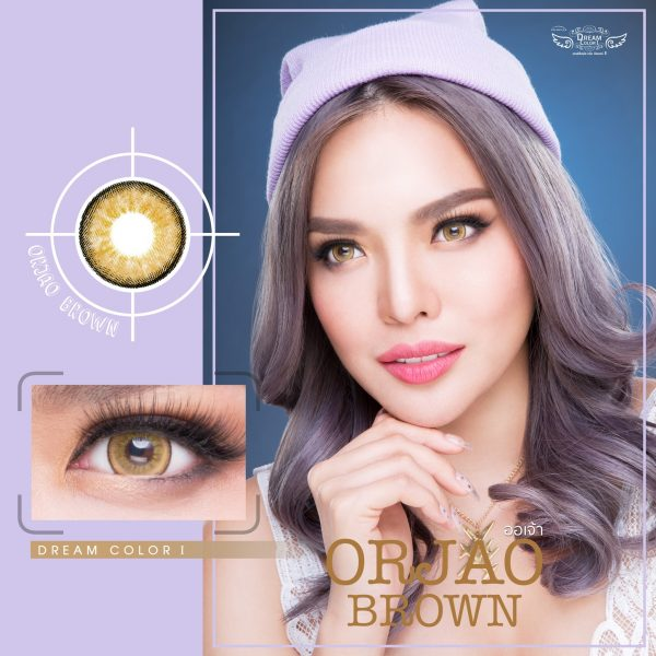 Softlens Dreamcolor ORJAO BROWN