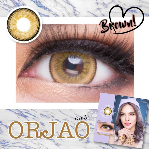 Softlens ORJAO BROWN.1